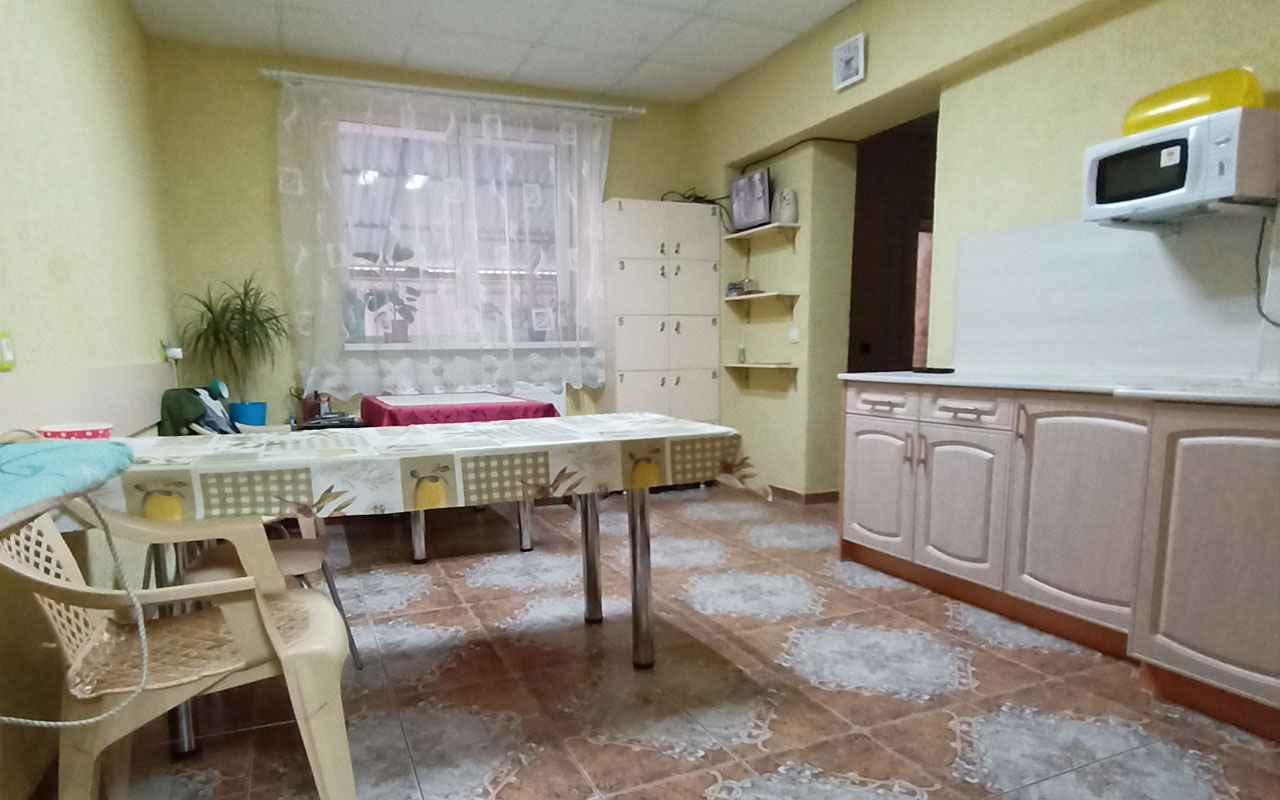 хостел кухня